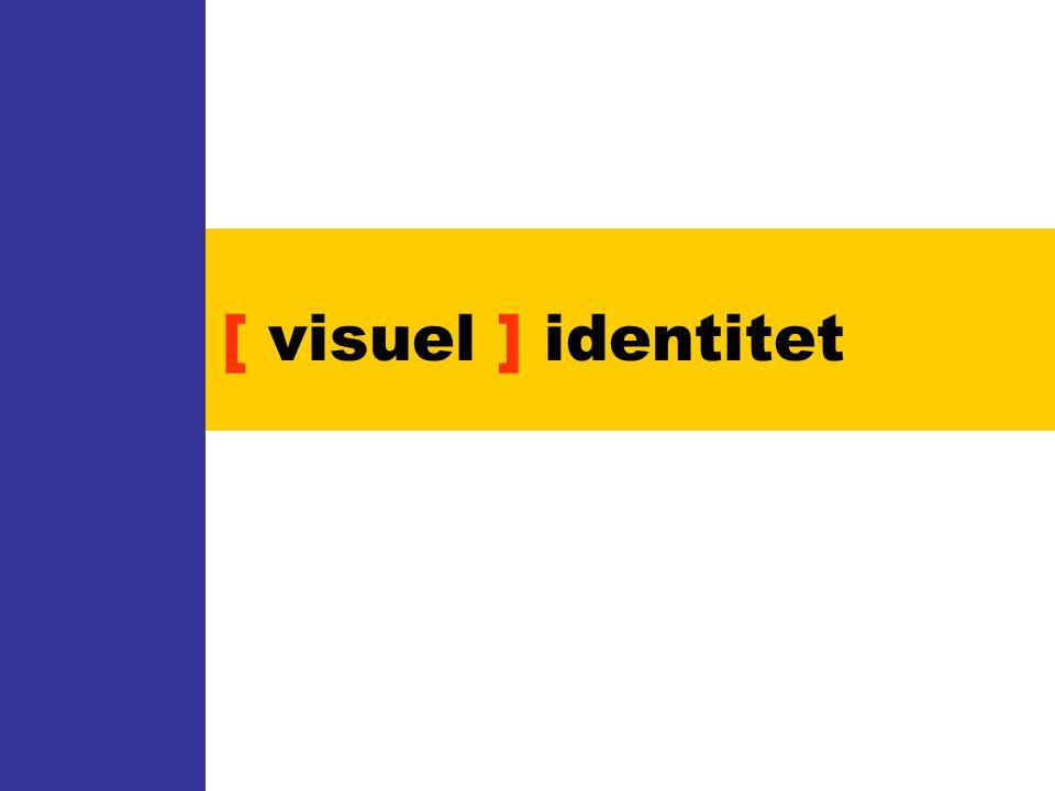 [ visuel ] identitet